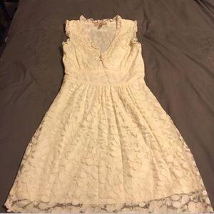 American Rag Cream Lace Dress